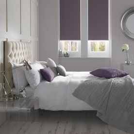 Banlight Duo FR Mulberry Bedroom Roller-RB