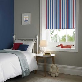 Funky Stripe Blackout Sky Childrens Room-RB