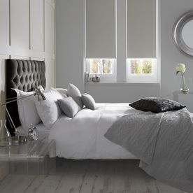 Banlight Duo FR Silver Bedroom Roller-RB